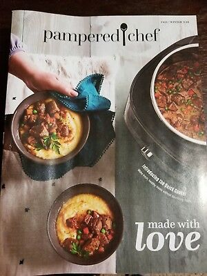 Pampered Chef fall/ winter 2018 Catalogs BRAND NEW UNOPENED QTY 25