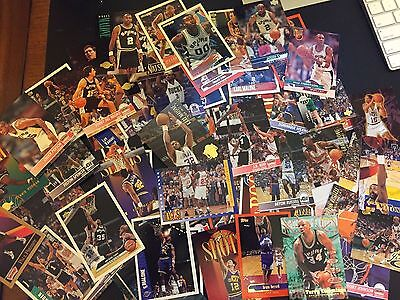ESTATE LIQUIDATION- LOT OF 100 VINTAGE NBA Basketball CARDS/ No Duplicate cards!