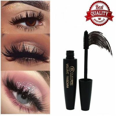 Women 4D Silk Fiber Eyelash Mascara Extension Waterproof Kit Eye Lashes