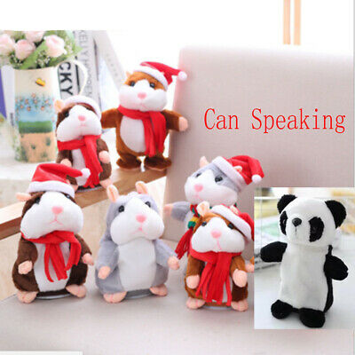 1pc Cheeky Hamster Talking Mouse Pet Toy Speak Sound Record Hamster Xmas Gift