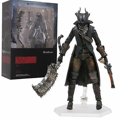 Figma 367 Bloodborne Hunter Action Figure Toy Gift 15cm New in Box