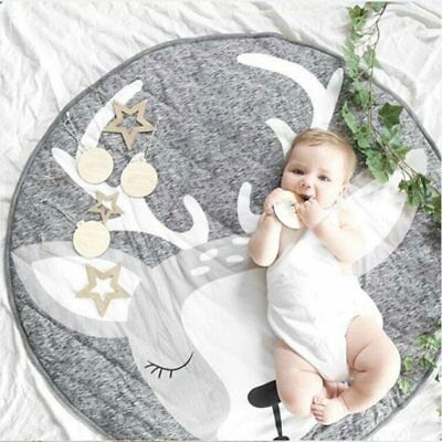 Infant Baby Game Play Mats Crawling Floor Rug Baby Bedding Blanket Room Decor