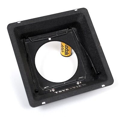 Toyo 158mm to Linhof Recessed Adapter Lens Board
