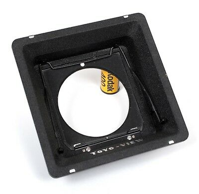 Toyo to Linhof Recessed Adapter Lens Board (158mm)
