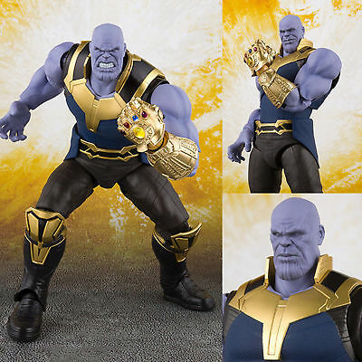 Anime S.H.Figuarts SHF Avengers Infinity War Thanos Action Figure New Toy In Box