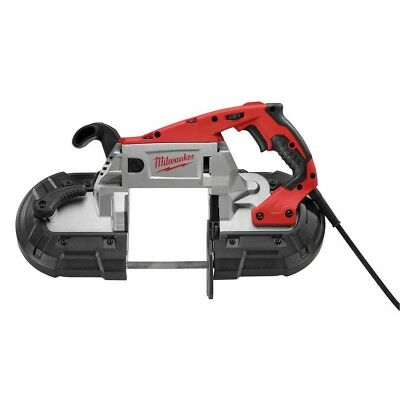 Band Saw Portable Hard Case Deep Cut Red Variable Speed Corded Keyless 11 Amp