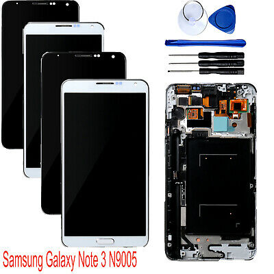 LCD Display Touch Screen Digitizer + Tools Frame for Samsung Galaxy Note 3 N9005