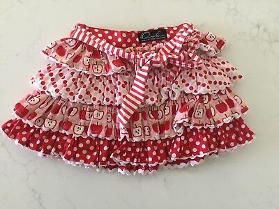 Oobi Frilled Ra-ra Skirt Excellent Condition