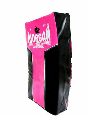 Morgan Ladies Heavy Duty Strike Shield Boxing Kick Pad MMA Pink Training CSW