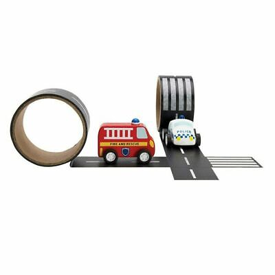 NEW Emergency Rescue Car & Road Tape Gift Set