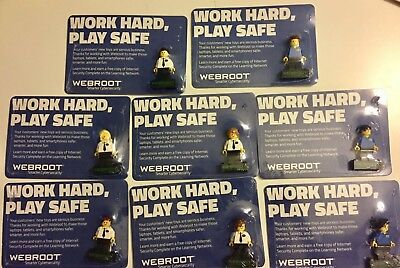 LEGO WEBROOT Minifigure BEST BUY EXCLUSIVE GEEK SQUAD/BESTBUY SEALED RARE NEW