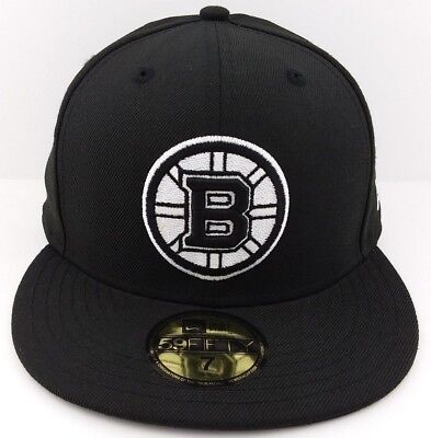 NEW ERA 59FIFTY NHL Cap Boston Bruins Primary Black Gold Fitted 5950 ... 3c9cd4a92211