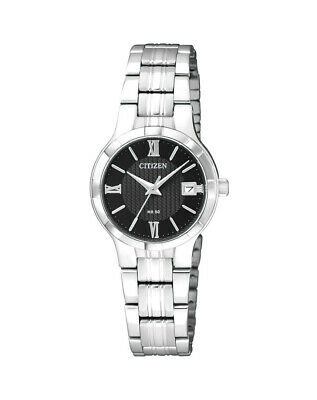 NEW Citizen Ladies Stainless Steel Quartz Watch - EU6020-50E