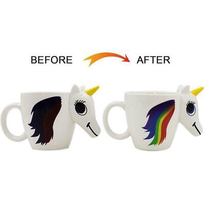 Unicorn Star War Coffee Mug Heat Sensitive Magic Color Changing for Drinking