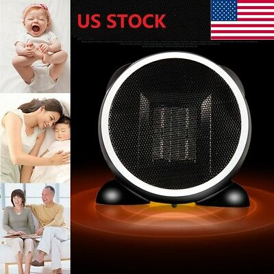 1500W Portable Space Heater Electric Oscillating Ceramic Room Office Thermostat