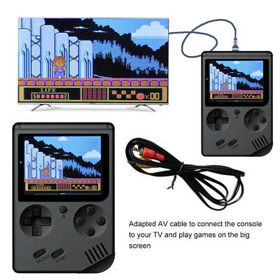 Kids Gifts Handheld Game Console 3.0 inch Screen FC Video Retro 500 Games Mini