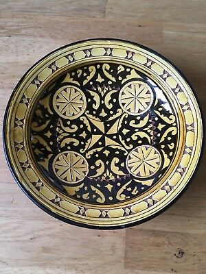 Old Ornate Plate Bowl
