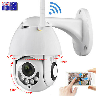 1080P Waterproof Outdoor WIFI Security IP Camera Motion Detection Monitor AU