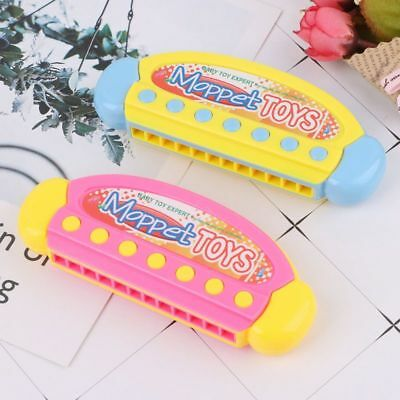 Harmonica Music Instrument Mouth Organ Melodica Training Vital Capacity Baby Toy