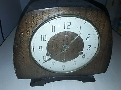 Large Antique Westminster Chimes Mantle Clock