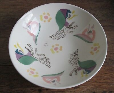 LAURA ASHLEY LARGE HAND PAINTED SERVING / PASTA BOWL/FRUIT BOWL (approx 29.5 cm)