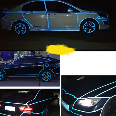 Diy Car Bicycle Reflective Safety Warning Tape Decor Sticker Decal Alluring