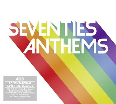 Seventies Anthems - Various Artists (Box Set) [CD]