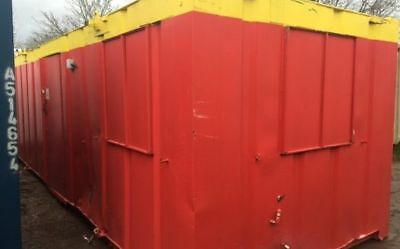 24'x9' Anti Vandal Office and Canteen Unit/ Cabin/ Building