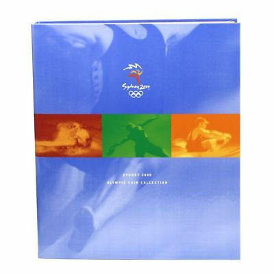Sydney 2000 Olympics 28 $5 Bronze Coin Collection in Official Album *Free Post*