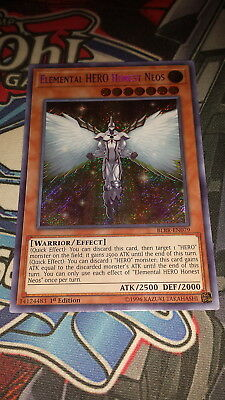 Elemental HERO Honest Neos - BLRR-EN079 - Secret Rare 1st Edition - M/NM Yugioh