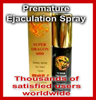 Natural Premature Ejaculation Delay Spray Prolong Sex and ERECTIONS