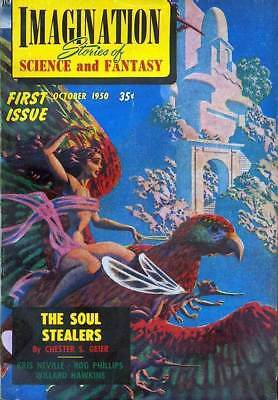 COMPLETE IMAGINATION SCI FI PULP MAGAZINE on DVD