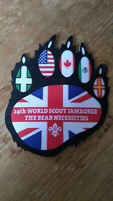 WSJ UK Unit 71/73 Joint Badge - 24th World Scout Jamboree 2019 Patch fundraising