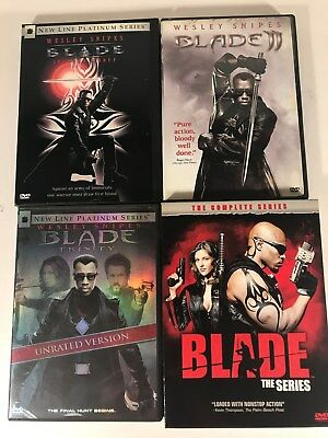 Blade (Marvel) Feature DVD Collection Lot