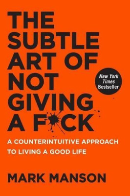 Subtle Art Of Not Giving A Hb (UK IMPORT) BOOK NEW