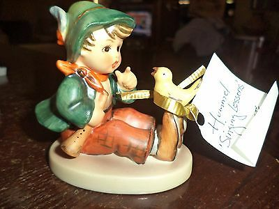 Vintage Hummel Figurine Singing Lessons Vintage Piece Pottery Goebel
