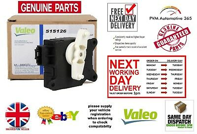 New Genuine Valeo Air Con Heater Control flap Servo Motor Fiat Croma 2005 > 2010