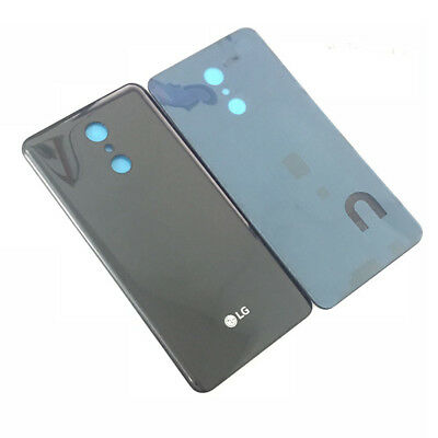 Black Battery Back Cover Door Housing Replace For LG Q Stylus Stylo 4 Q710 US