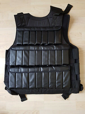 Weighted Vest 25kg Bodybuilding Maxi Muscle Strength Fitness Training