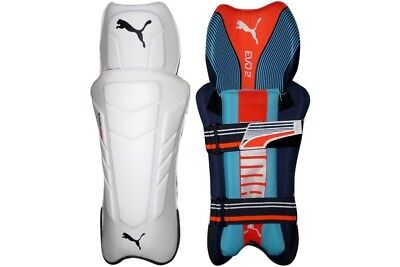 Puma Unisex 2018 Evo 2 Cricket Wicket Keeping Pads Sports Training Accessory