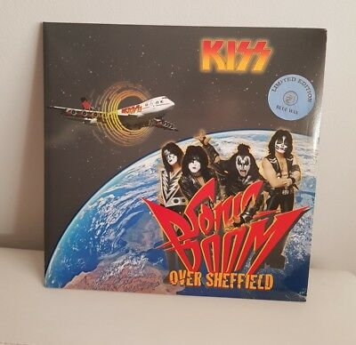 Kiss Sonic Boom Over Sheffield  Limited Edition  Gatefold 2×Blue Vinyl Ex+++++
