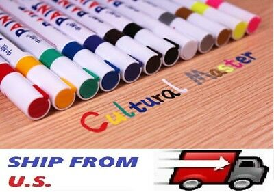 Waterproof Universal Permanent Paint Marker Pen Car Tyre Tire Tread Rubber Metal