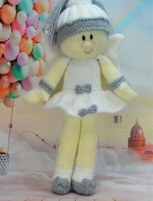 Doll & Clothes My Fairy Lady Knitting Pattern Instructions To Make Yourself