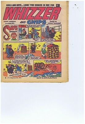 14 x Whizzer and Chip Comics 1972  Good Cond