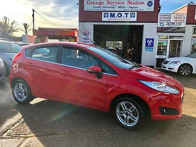 2013 FORD FIESTA 1.25 82 ZETEC 5dr ONLY 34 K WITH FULL SERVICE HISTORY