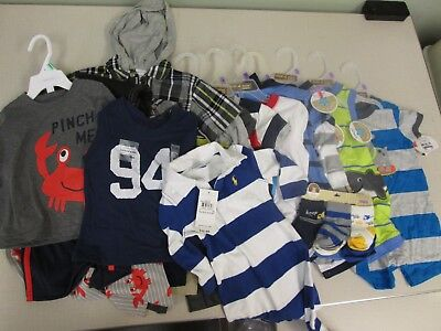 12-18 Months Baby Boys Clothing 20+ Items Brand New Never Worn Worth Over $100