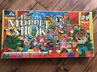 PARKER BROTHERS Board Games 1979 THE MUPPET SHOW