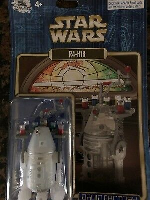 Disney World Star Wars R4-H18 Droid Factory Holiday New