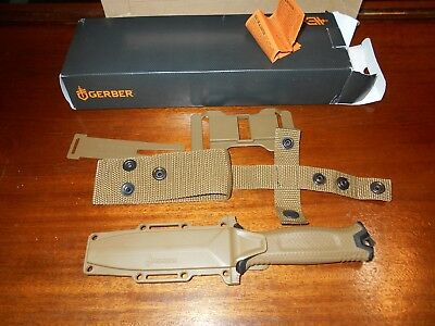 Gerber Strong-arm Fixed Blade survival knife Coyote Brown FE 30-001058