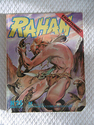 RAHAN Bimestriel N°25 Août 1977 Édition Originale BD Bande Dessiné, French Comic